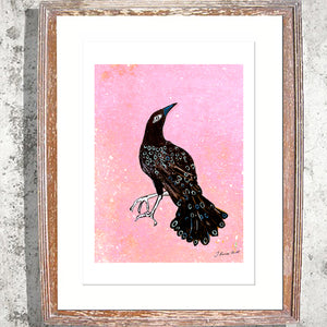 "Signed Print/ ""The Raven"""