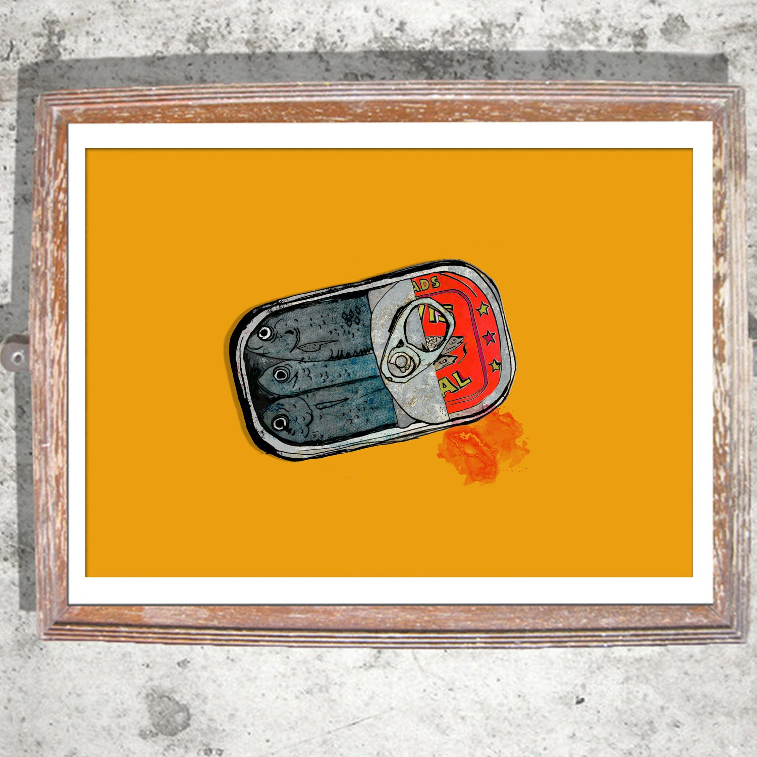 "Signed Print / ""The Sardines"""