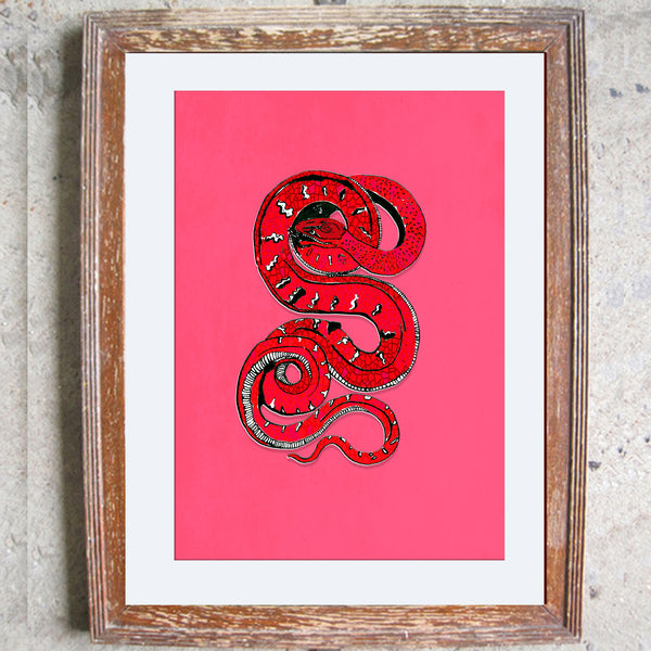 "Limited Edition Print/""The Snake"""