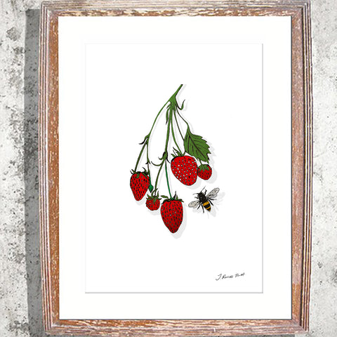 "Signed Print / ""The Strawberry Vine"""