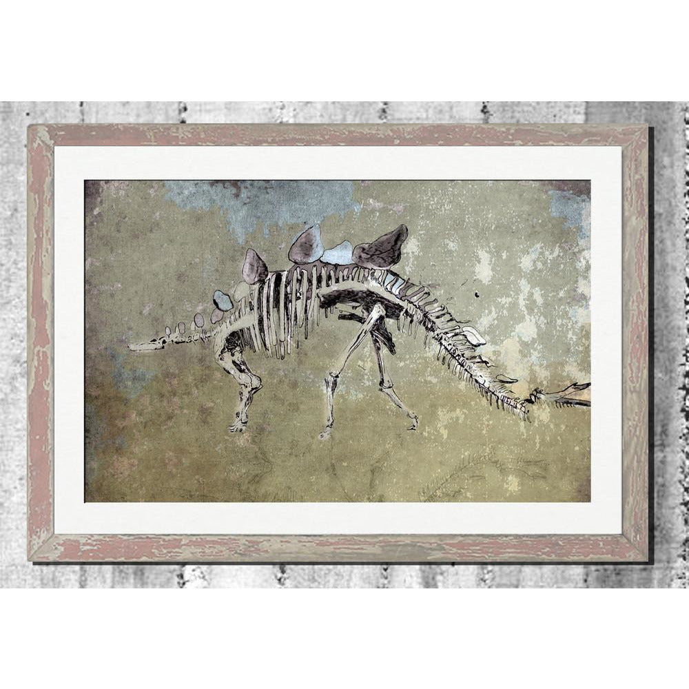 "Limited Edition Print / ""The Ancient Dinosaur"""