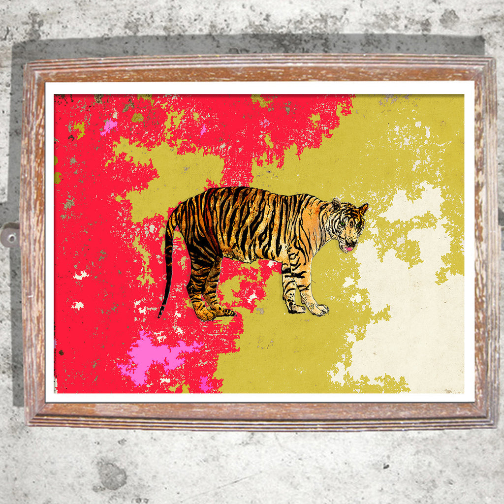 "Limited Edition Print / ""The Tiger Tales"""