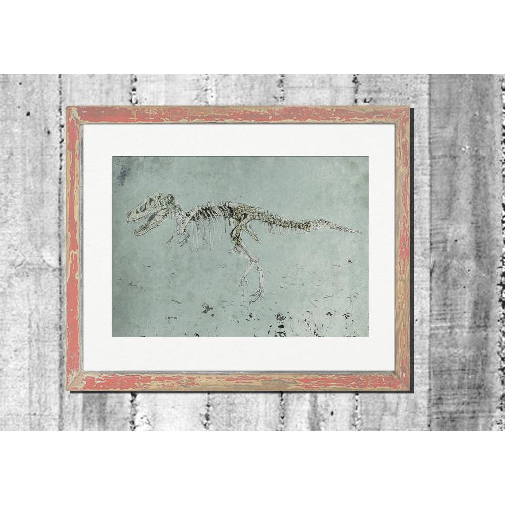 "Signed Print / ""The Hunting Dinosaur"""