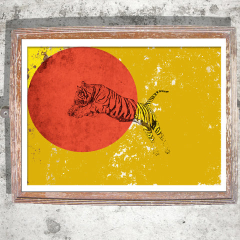 "Signed Print / ""The Tiger Ball"""