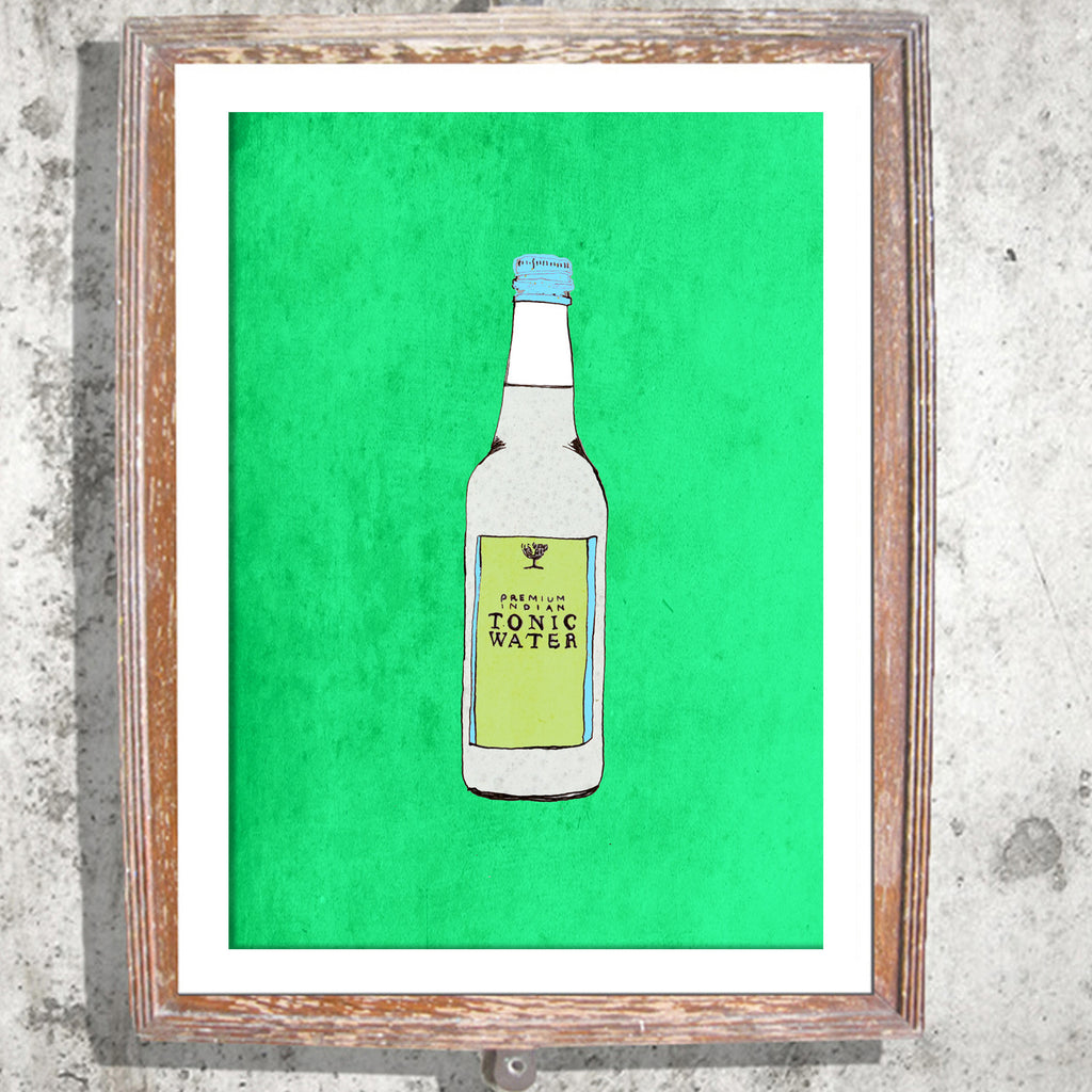 "Limited Edition Print / ""The Tonic Water"""