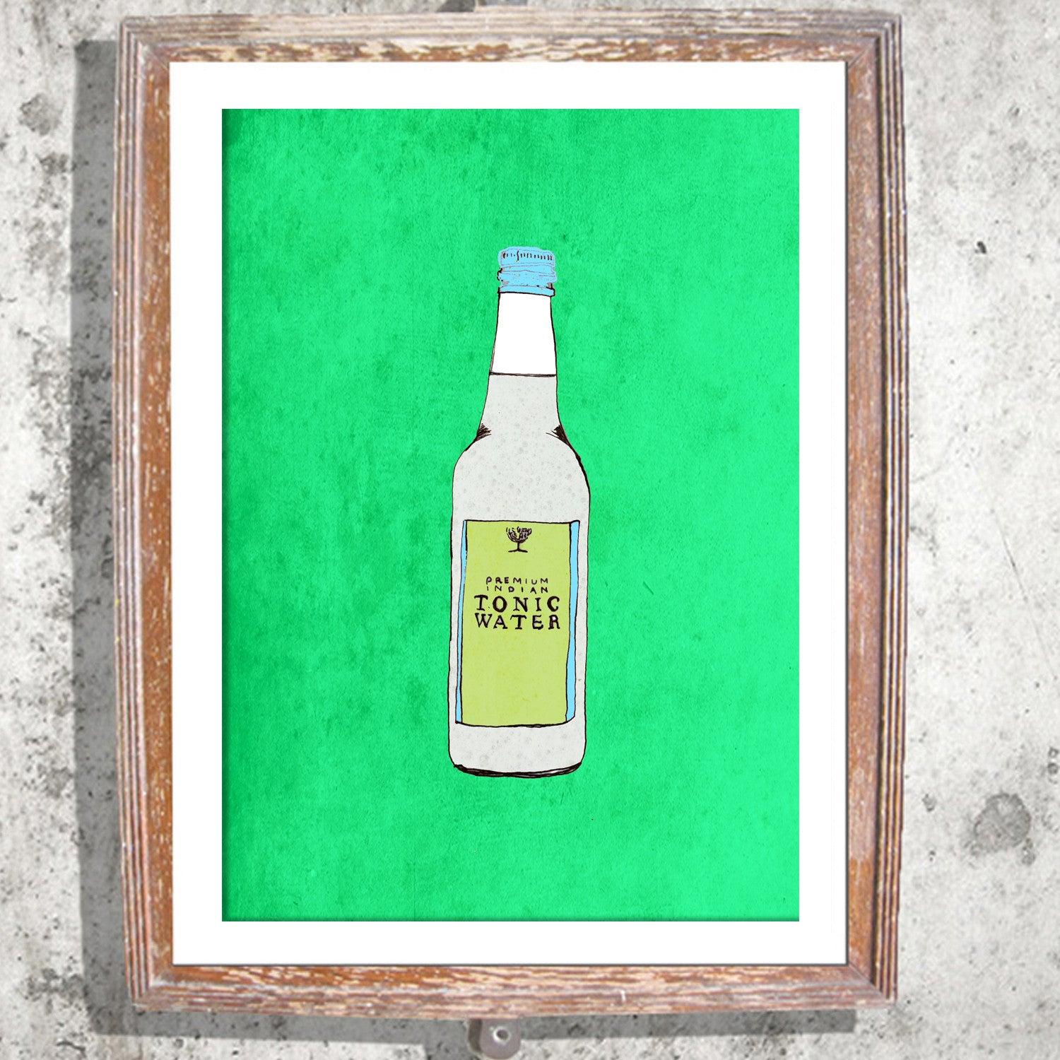 "Signed Print / ""The Tonic Water"""