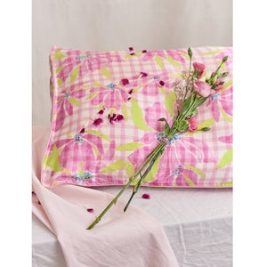 "Silk Pillowcase/ ""Water The Lily"""