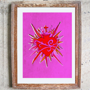 "Signed Print / ""The Wild Heart"""