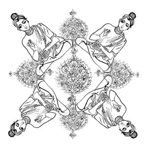 "Free Colouring In Print / ""Yogis"""