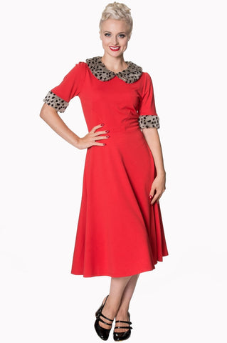 Banned Apparel Caviar Dress in Red