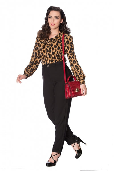 Leopard Lady Blouse