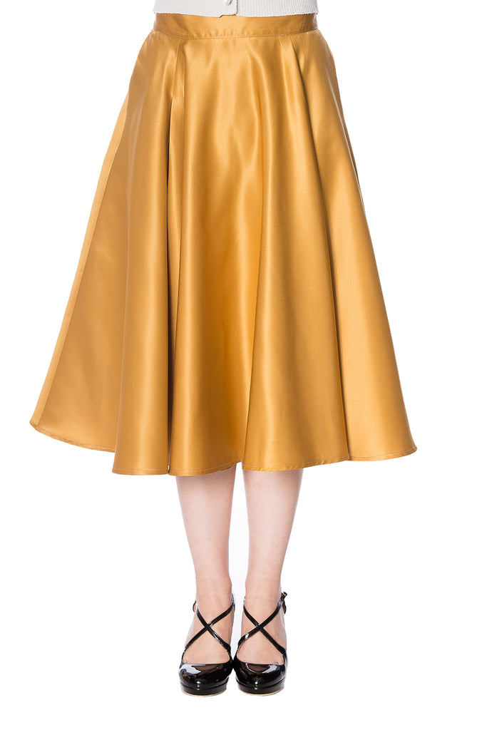 Miracles Skirt in Gold