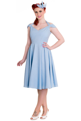 Eveline Dress - Vintage 1950's Style Swing Dress - Hell Bunny