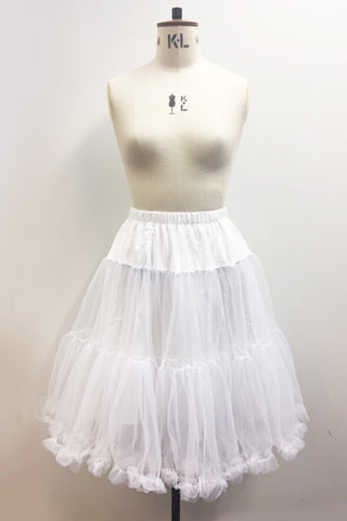Petticoat - White - Kit'n'Heels