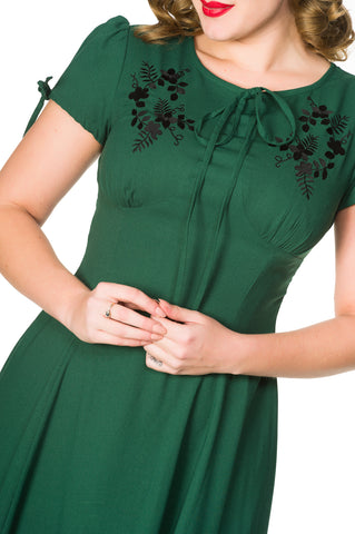 Ava Dress in Green