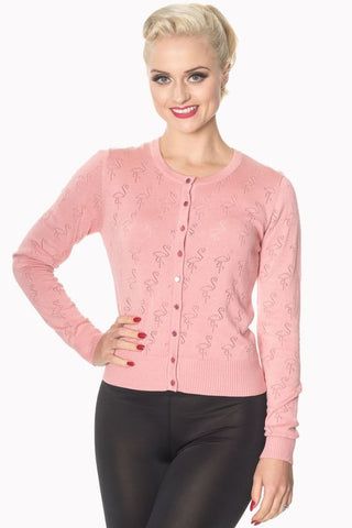 Goddess Cardigan - Pink - Banned Apparel