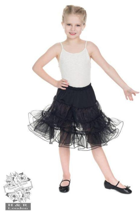 Black Petticoat - Kids - Kit'n'Heels