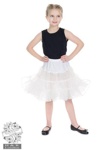 White Petticoat - Kids - Kit'n'Heels
