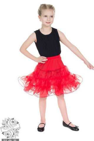 Red Petticoat - Kids - Kit'n'Heels