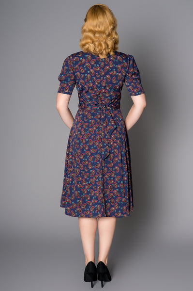 Tea Dress in Paisley