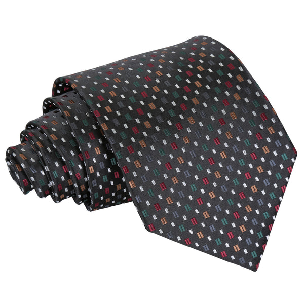 Bohemian Geometric Classic Tie in 4 colours