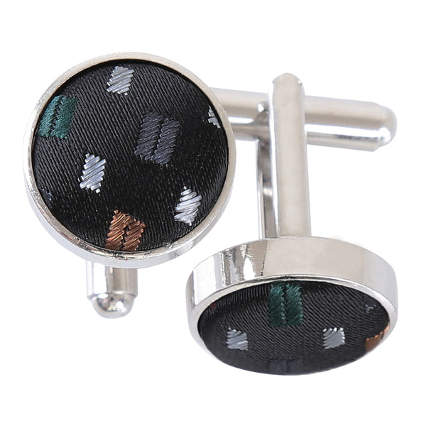 Bohemian Geometric Cufflinks in 4 colours