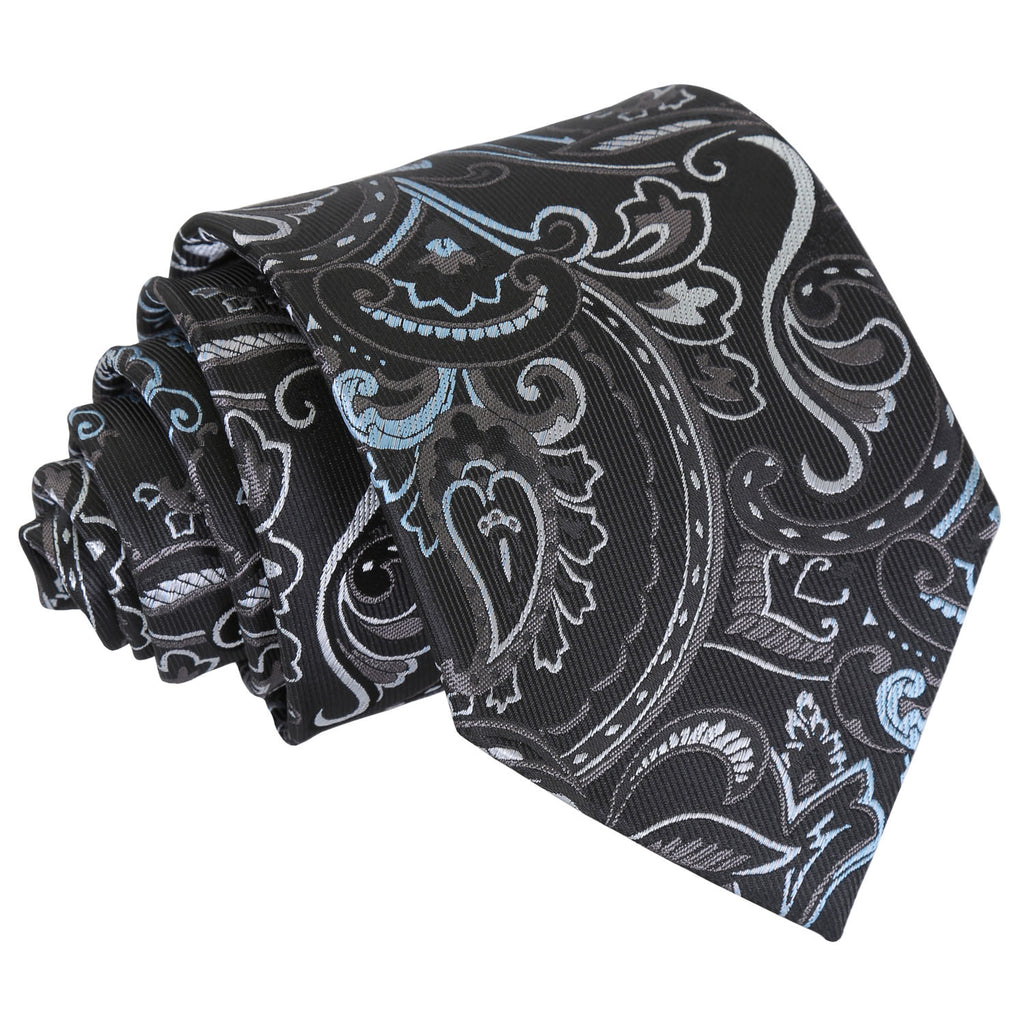 Cypress Paisley Classic Tie in 5 colours