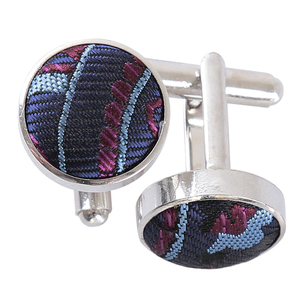 Cypress Paisley Cufflinks in 5 colours