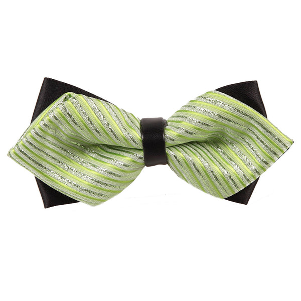 Diamond Tip Pre-Tied Bow Tie in 34 colours