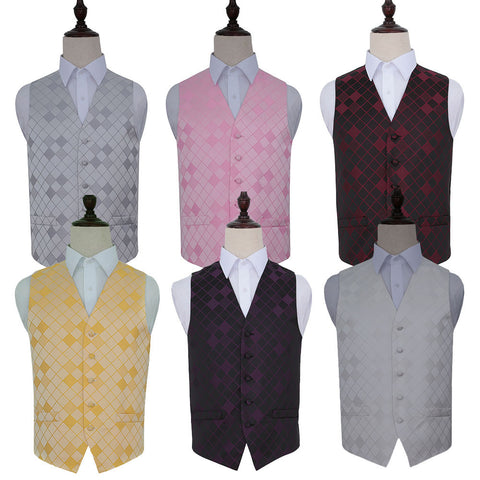 Diamond Waistcoat in 6 colours