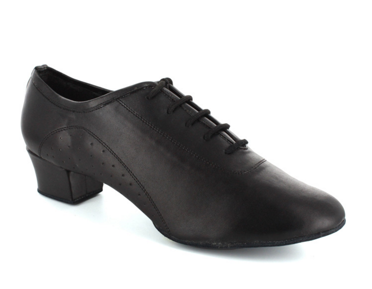 Cesare - Black Man's Latin Cuban Heel Dance Shoe