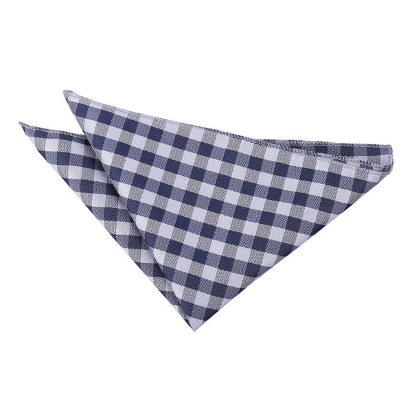 Gingham Check Pocket Square in 8 colours