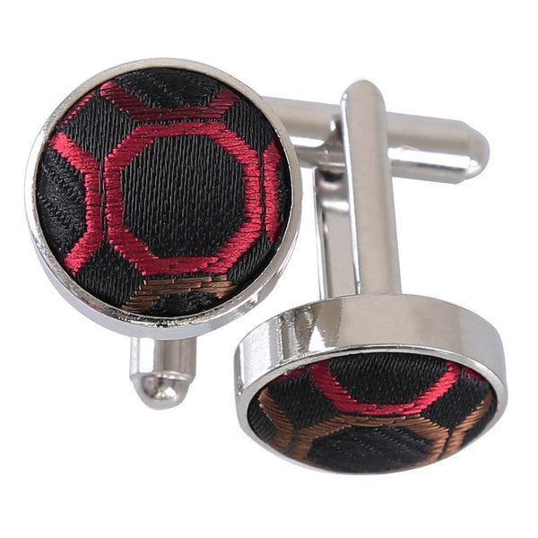 Honeycomb Polka Dot Cufflinks in 6 colours