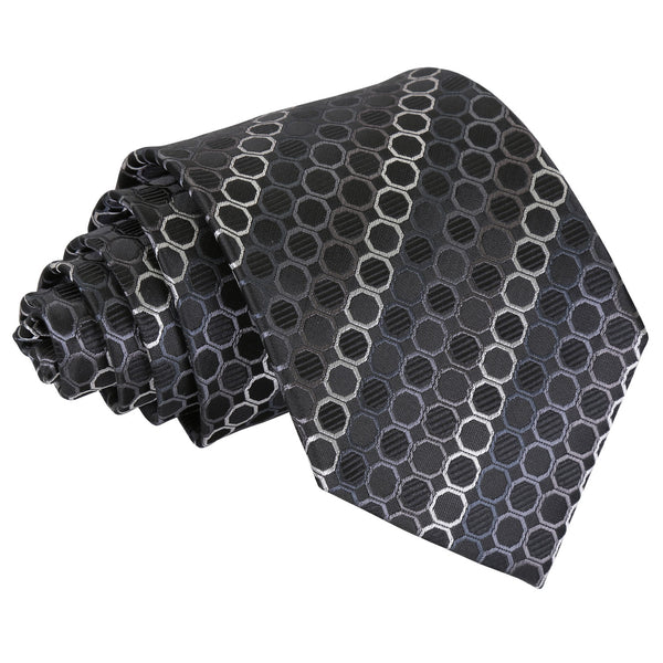 Honeycomb Polka Dot Classic Tie in 6 colours