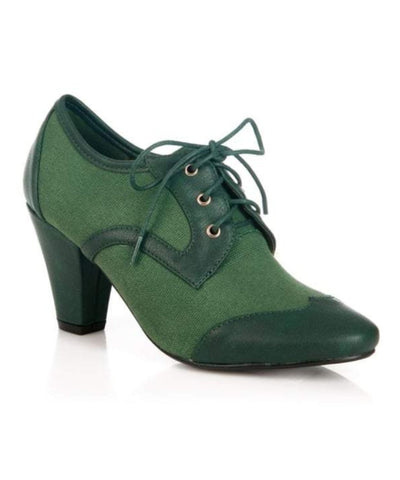 Martha Heel Green - Ladies Fashion Shoes