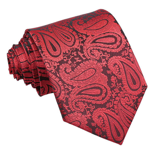 Paisley Classic Tie in 18 colours