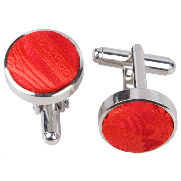 Paisley Cufflinks in 18 colours