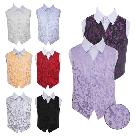 Passion Waistcoat in 8 colours - Boys