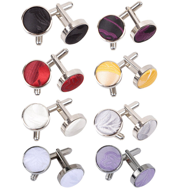 Passion Cufflinks in 8 colours