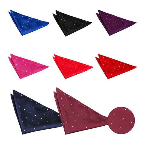 Pin Dot Pocket Square in 8 colours