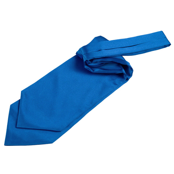 Plain Satin Self-Tie Cravat in 31 colours