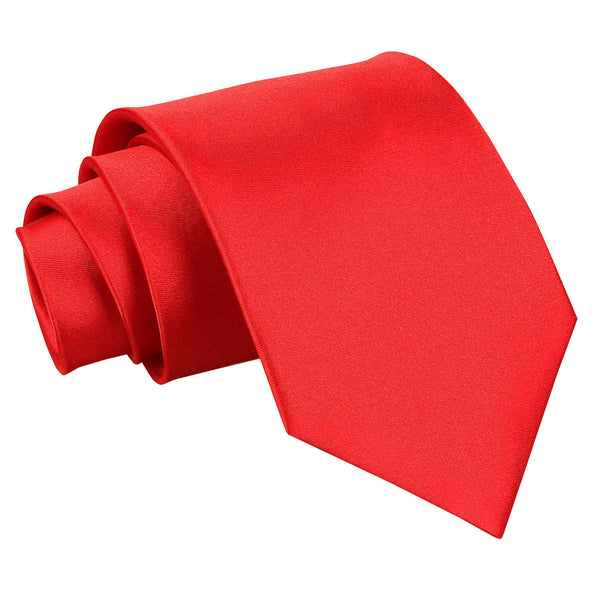 Plain Satin Extra Long Tie in 32 colours