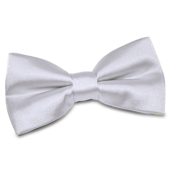 Plain Satin Pre-Tied Bow Tie in 33 colours
