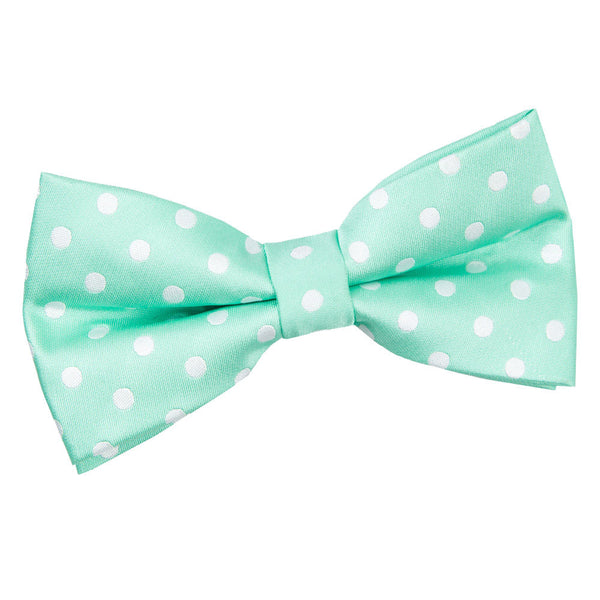 Polka Dot Pre-Tied Bow Tie in 11 colours