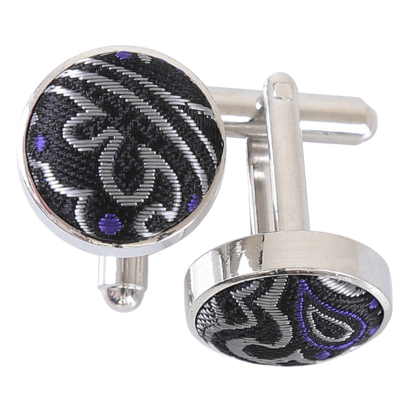 Royal Paisley Cufflinks in 6 colours