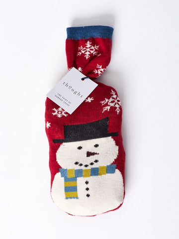 Socks in a bag - Christmas Snowman- Mens - Kit'n'Heels