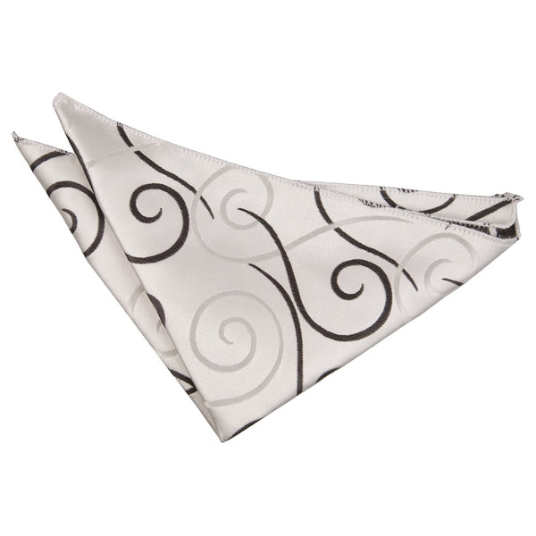 Scroll Pocket Square in 9 colours
