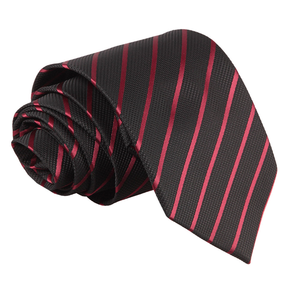 Single Stripe Classic Tie in 16 colours