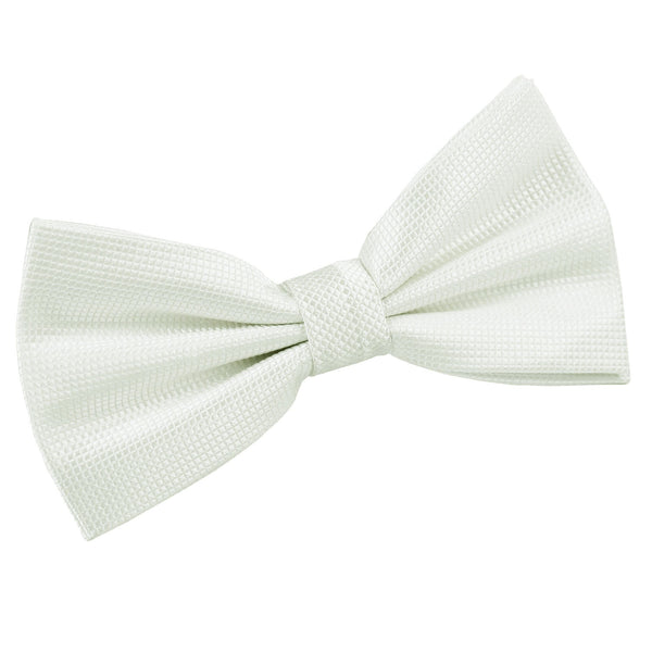 Solid Check Pre-Tied Bow Tie in 15 colours