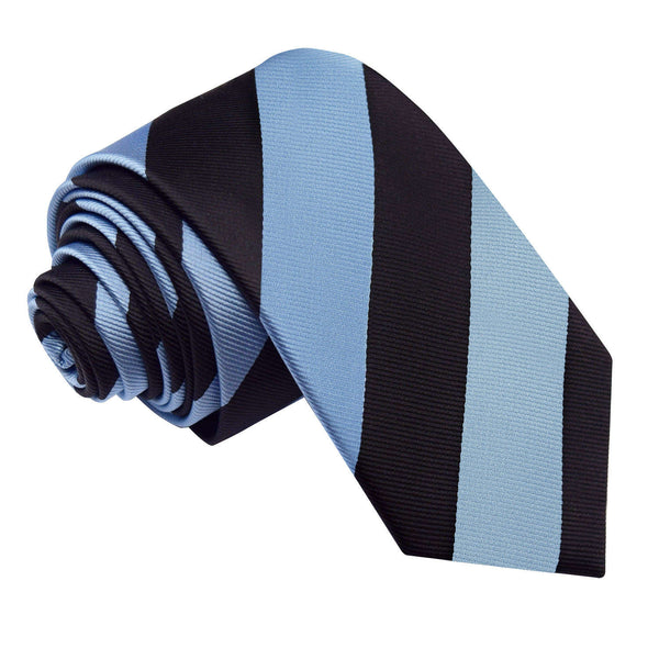 Striped Slim Tie in 16 colours